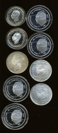 Luxembourg, Luxembourg: Nine-piece lot of modern Proofs as follows:... (Total:9 coins)