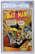 Silver Age (1956-1969):Superhero, Batman #97 (DC, 1956) CGC VF 8.0 Off-white pages....