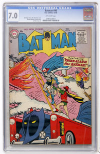Batman #96 (DC, 1955) CGC FN/VF 7.0 Off-white pages