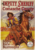 Books:First Editions, Edgar Rice Burroughs. The Deputy Sheriff of Comanche County.Tarzana: Edgar Rice Burroughs, Inc., 1940....