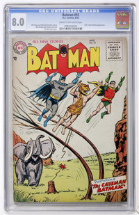 Batman #93 (DC, 1955) CGC VF 8.0 Cream to off-white pages