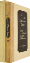 Books:Signed Editions, Larry McMurtry. In a Narrow Grave: Essays on Texas. Austin:The Encino Press, 1968.. ...