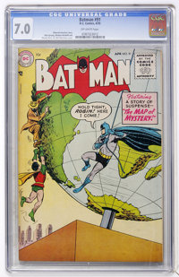 Batman #91 (DC, 1955) CGC FN/VF 7.0 Off-white pages