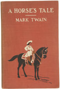 Books:First Editions, Mark Twain. A Horse's Tale....