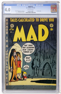Mad #1 (EC, 1952) CGC VG 4.0 Off-white pages