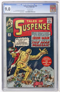 Silver Age (1956-1969):Superhero, Tales of Suspense #44 (Marvel, 1963) CGC VF/NM 9.0 Off-white pages....