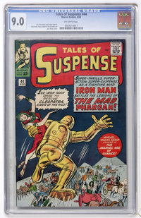 Tales of Suspense #44 (Marvel, 1963) CGC VF/NM 9.0 Off-white pages