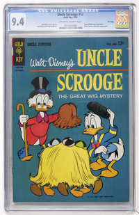 Uncle Scrooge #52 File Copy (Gold Key, 1964) CGC NM 9.4 Off-white to white pages
