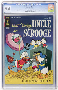 Uncle Scrooge #46 File Copy (Gold Key, 1963) CGC NM 9.4 Cream to off-white pages