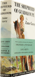 Books:First Editions, Zane Grey. The Shepherd of Guadaloupe. New York and London:Harper & Brothers, 1930.. ...