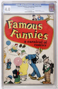 Platinum Age (1897-1937):Miscellaneous, Famous Funnies: A Carnival of Comics #nn (Eastern Color, 1933) CGCVG 4.0 Cream to off-white pages....