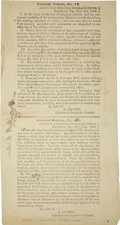 Autographs:Military Figures, [Circular] Hardeman's Brigade: General Orders 155 and 13. ...