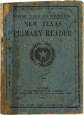 Books:Early Printing, E. H. Cushing [editor]. The New Texas Primary Reader....