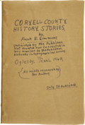 Books:First Editions, Frank E. Simmons. Coryell County History Stories. . ...