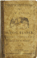 Books:Children's Books, [Confederate Imprint]. The New Texas Reader. . ...