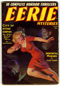 Eerie Mysteries V1#1 (Magazine Publishers Inc., 1938) Condition: VG