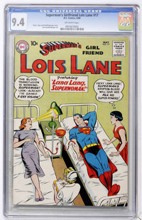 Superman's Girl Friend Lois Lane #17 (DC, 1960) CGC NM 9.4 Off-white pages