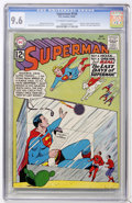 Silver Age (1956-1969):Superhero, Superman #156 (DC, 1962) CGC NM+ 9.6 Off-white to white pages....