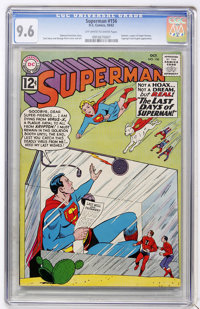 Superman #156 (DC, 1962) CGC NM+ 9.6 Off-white to white pages