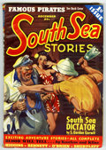 Pulps:Adventure, South Sea Stories V1#1 (Ziff-Davis, 1939) Condition: VG+....