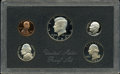 Proof Roosevelt Dimes, 1983-S Proof Set Featuring No S Dime.... (Total: 5 coins)