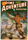 Pulps:Adventure, Dime Adventure Magazine V1#1 (Popular Publications, 1935) Condition: VG+....