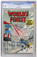 Silver Age (1956-1969):Superhero, World's Finest Comics #115 (DC, 1961) CGC NM+ 9.6 Off-white pages....