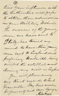 Autographs:Statesmen, King Kalakaua I of Hawaii, Autograph Letter Signed,...