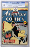 Golden Age (1938-1955):Superhero, Adventure Comics #48 (DC, 1940) CGC VG+ 4.5 Off-white to white pages....