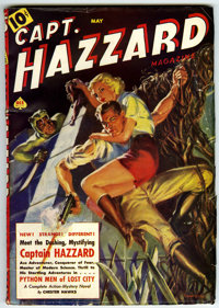 Captain Hazzard Magazine V1#1 (Magazine Publishers Inc., 1938) Condition: VG