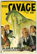 Pulps:Hero, Doc Savage December 1943 (Street & Smith, 1943) Condition: VG/FN....