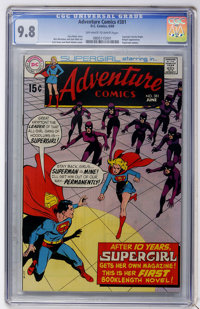 Adventure Comics #381 (DC, 1969) CGC NM/MT 9.8 Off-white to white pages