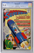 Silver Age (1956-1969):Superhero, Superman #146 (DC, 1961) CGC NM 9.4 Off-white pages....