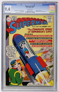 Superman #146 (DC, 1961) CGC NM 9.4 Off-white pages