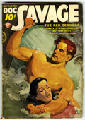 Pulps:Hero, Doc Savage September 1938 (Street & Smith, 1938) Condition: VG....