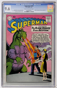 Superman #142 (DC, 1961) CGC NM+ 9.6 Cream to off-white pages