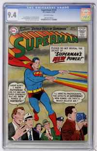 Superman #125 (DC, 1958) CGC NM 9.4 Off-white pages