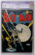 Golden Age (1938-1955):Superhero, Batman #13 (DC, 1942) CGC Apparent FN/VF 7.0 Moderate (P) Off-white pages....