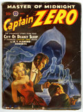 Captain Zero #1 (Popular, 1950) Condition: VG