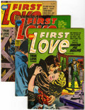 Silver Age (1956-1969):Romance, First Love Illustrated File Copies Group (Harvey, 1954-63)Condition: Average VF+.... (Total: 48 Comic Books)