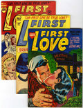 Golden Age (1938-1955):Romance, First Love Illustrated Group (Harvey, 1949-63) Condition: AverageVF/NM unless otherwise noted.... (Total: 41 Comic Books)