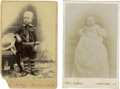 Photography:CDVs, Two Cartes de Vistie by C. S. Fly of Tombstone, ArizonaTerritory.... (Total: 2 Items)