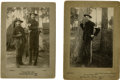 Photography:Cabinet Photos, Two Cabinet Cards of First Sergeant Francis A. Burke,... (Total: 2Items)
