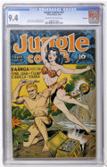 Golden Age (1938-1955):Adventure, Jungle Comics #57 Rockford pedigree (Fiction House, 1944) CGC NM 9.4 Cream to off-white pages....
