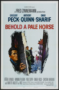 "Movie Posters:War, Behold a Pale Horse (Columbia, 1964). One Sheet (27"" X 41"").War...."
