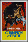 "Movie Posters:Action, Champion of Death (United Artists, 1976). One Sheet (27"" X 41"").Action...."