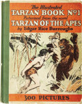 Books:Children's Books, Edgar Rice Burroughs. The Illustrated Tarzan Book No. 1Picturized From the Novel Tarzan of the Apes. New York: ...