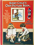 Books:Children's Books, Every Child's Own Picture Book A.B.C. of Wild Animals.London: Raphael Tuck & Sons, Ltd., [no date].. ...