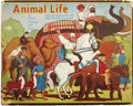 Books:Children's Books, S. Louis Giraud, editor. Animal Life in Fact, Fancy and FunPop-Up Book. [London]: Daily Sketch & Sunday Graphic...