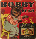 "Books:Children's Books, Bobby Bear Pop-Up ""Magic Action"" Book. Racine: WhitmanPublishing Co., 1935.. ..."